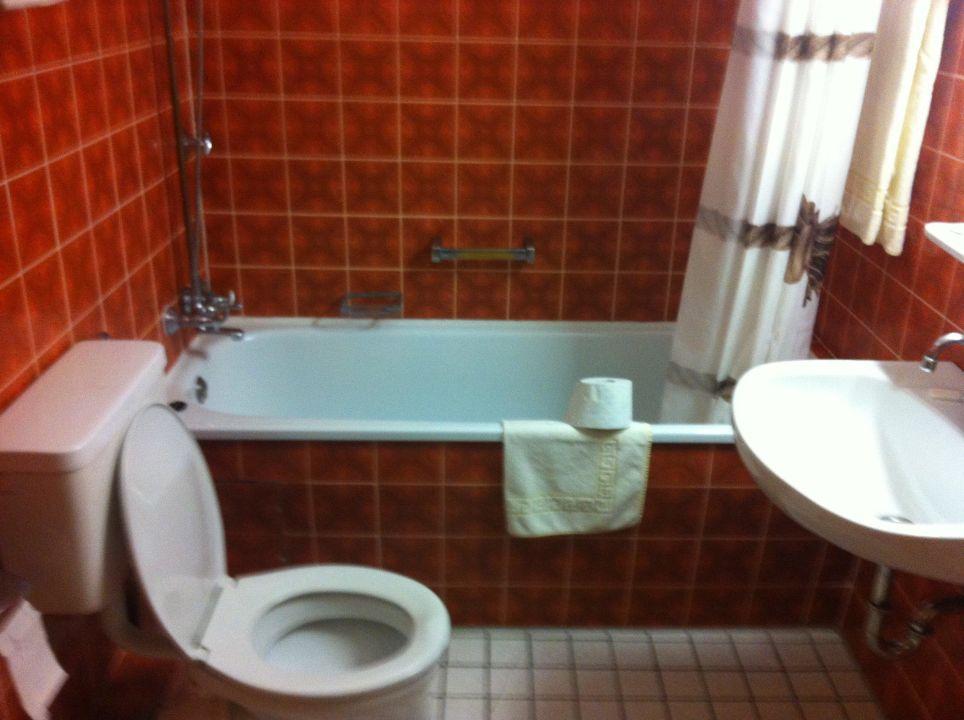 Badezimmer Der 60er Hotel Acon