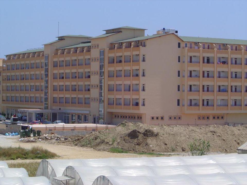 Blick vom Balkon mit Zoom Hotel Titan Garden