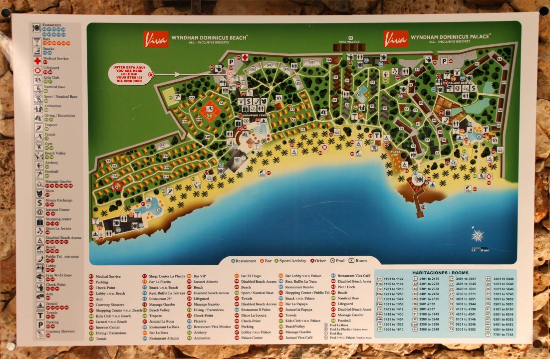 Quot Hotel 252 Bersicht Quot Hotel Viva Wyndham Dominicus Beach In Bayahibe Holidaycheck Dominikanische