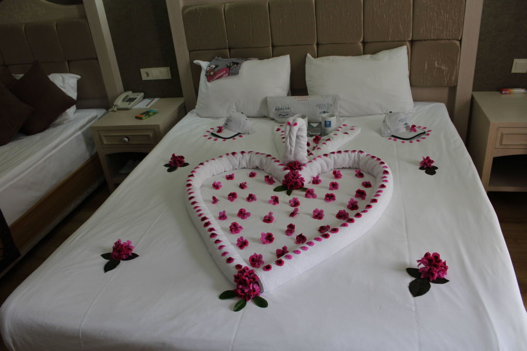 hochzeitsdeko hotel adalya resort spa evrenseki