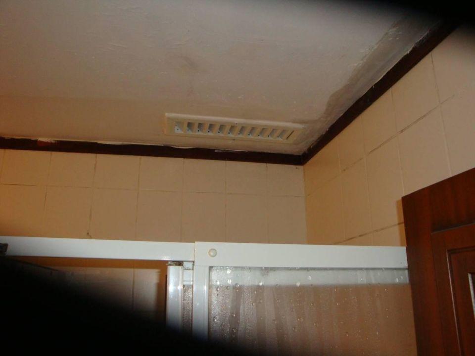 schimmel an der decke im bad abzug funktioniert nicht numa palma hotel avsallar. Black Bedroom Furniture Sets. Home Design Ideas