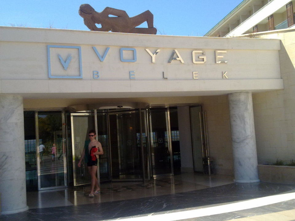 Hoteleingang Voyage Belek Golf & Spa