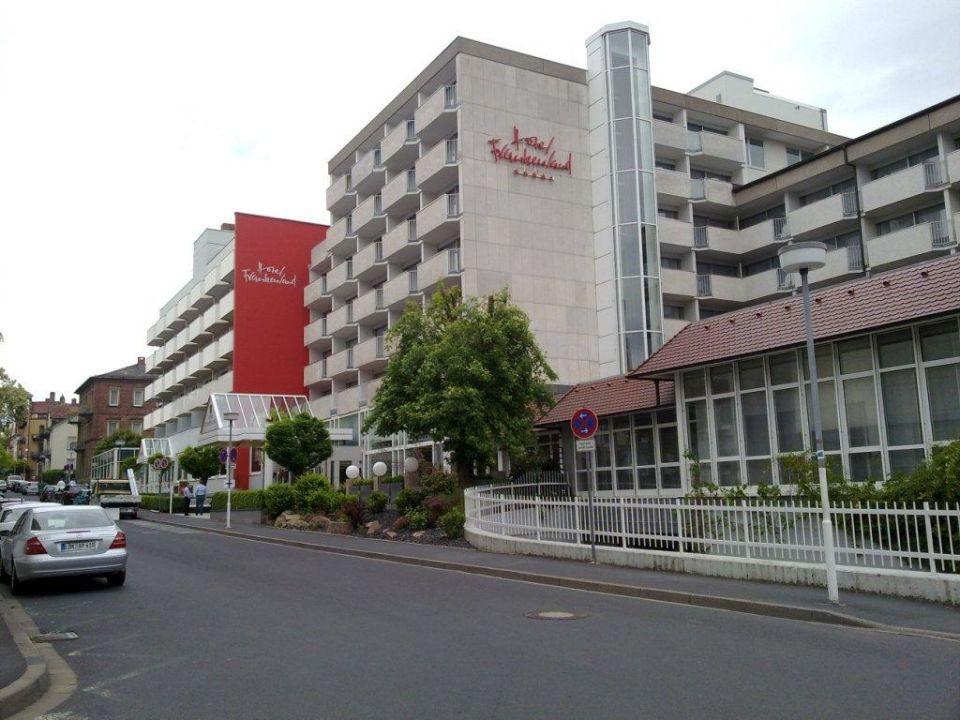 Eingang Hotel Hotel Frankenland