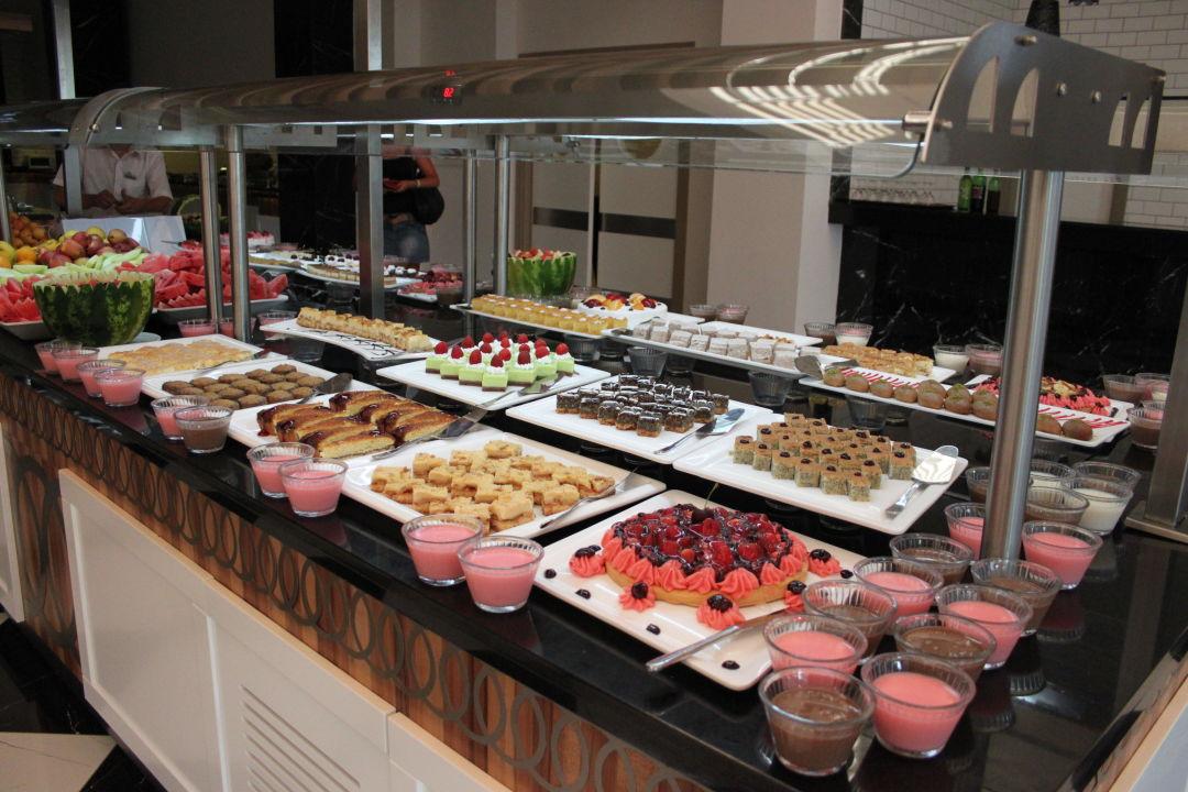 Immer sehr abwechlungsreiches und leckeres Essen Hotel Royal Garden Select