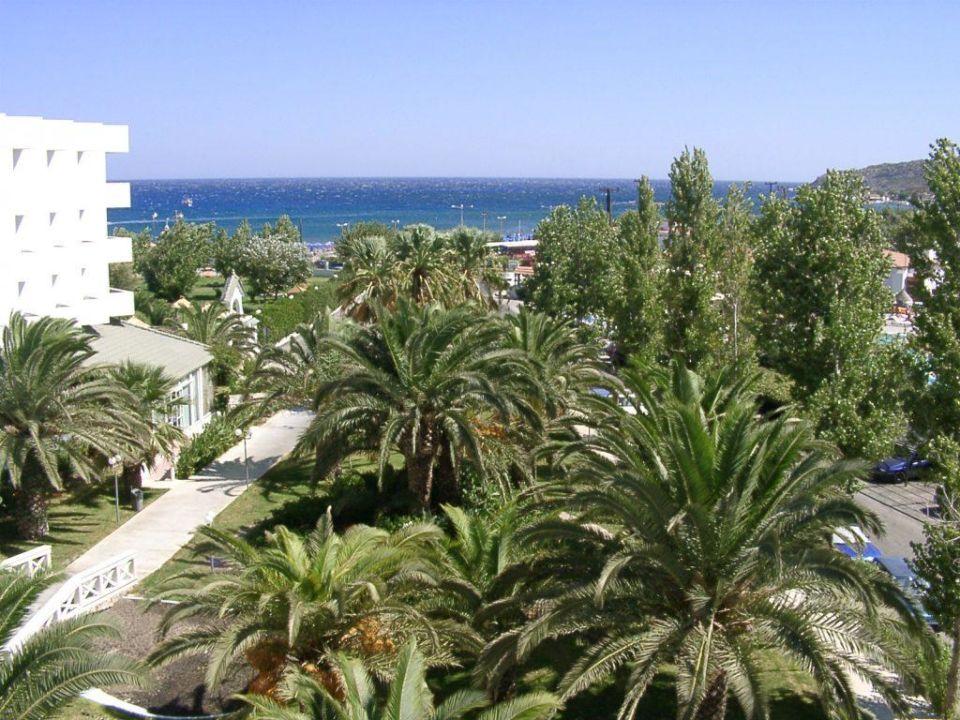 Blick aufs Meer - Faliraki Beach Hotel Mitsis Faliraki Beach Hotel & Spa