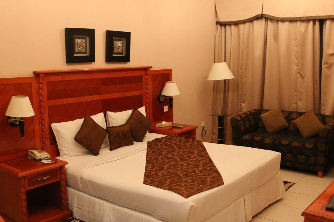 Der Schlafbereich Hotel Grand Midwest