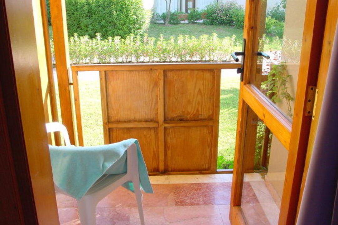 Balkon Gartenzimmer Club Tuana Fethiye