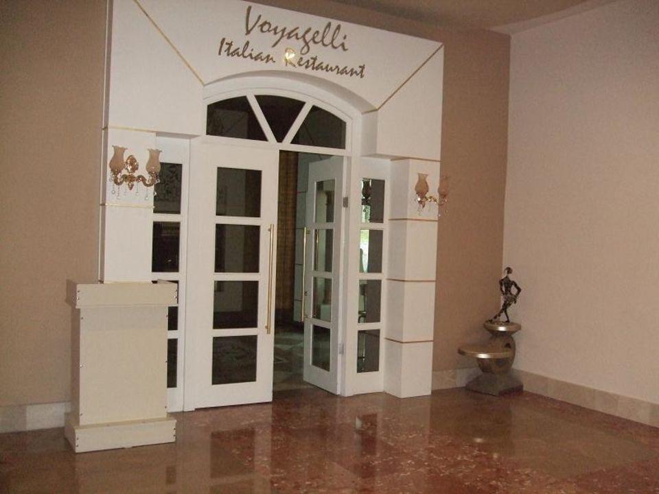 Eingang Italiener Voyage Belek Golf & Spa