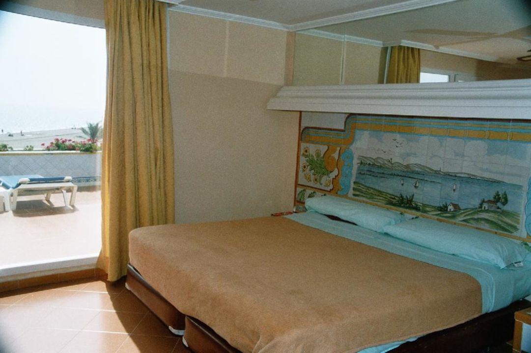 Schlafzimmer vom Appartement\