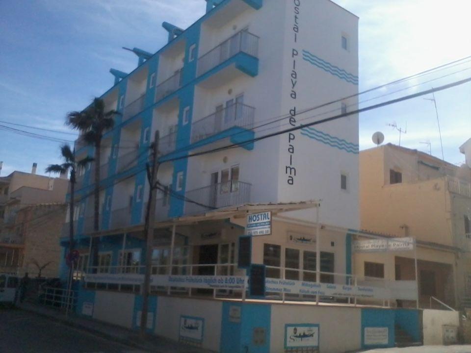 Außenansicht Hostal Playa De Palma