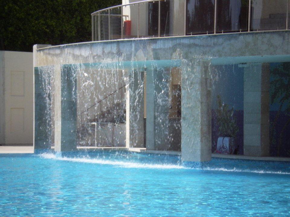 Der Wasserfall Im Pool Hotel Alara Star