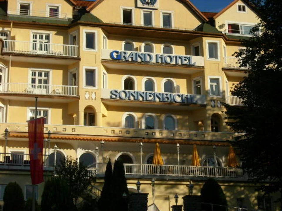 Frontansicht Grand Hotel Sonnenbichl