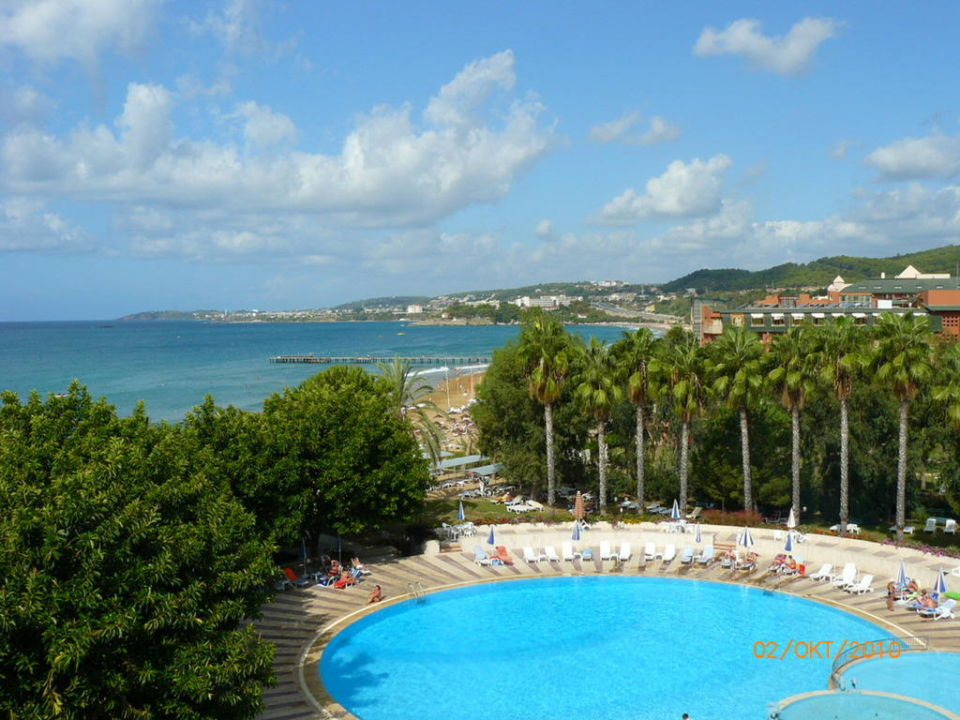View and pool Hotel Top