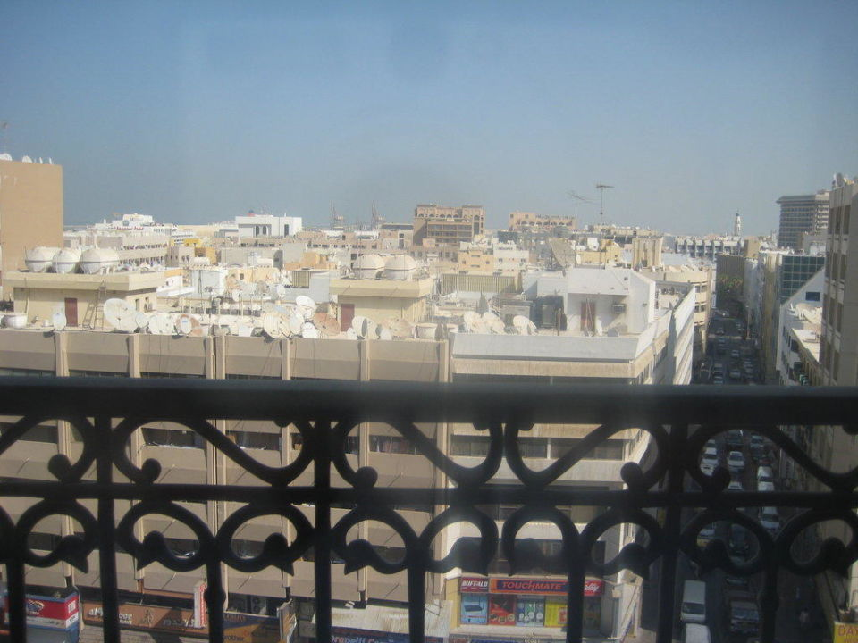 Ausblick vom Zimmer Hotel Royal Ascot