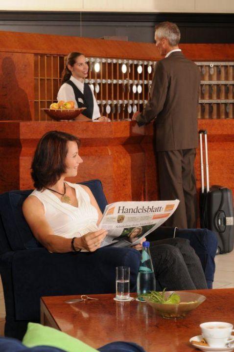 Rezeption Hotel Marburger Hof