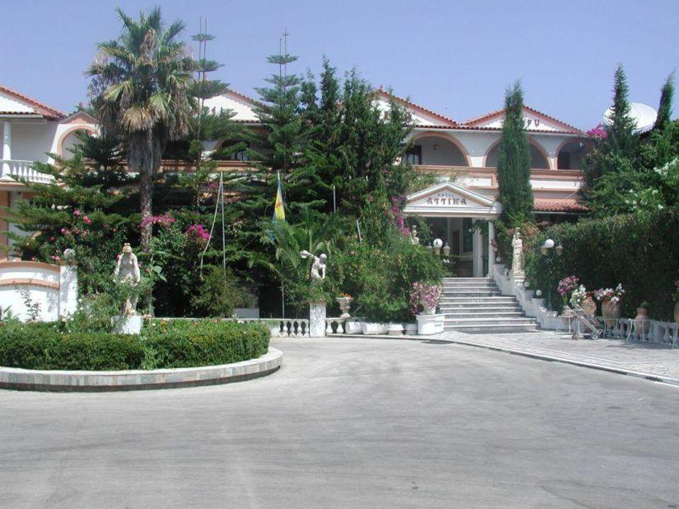 Attika Beach Hotel - Eingangsbereich Attika Beach Hotel