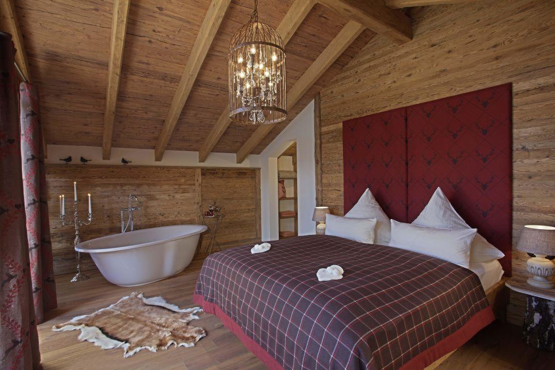 Schlafzimmer Im Bergdorf-chalet