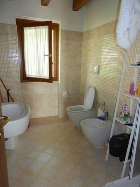 Badezimmer inkl. Toilette Relais Rosa Dei Venti