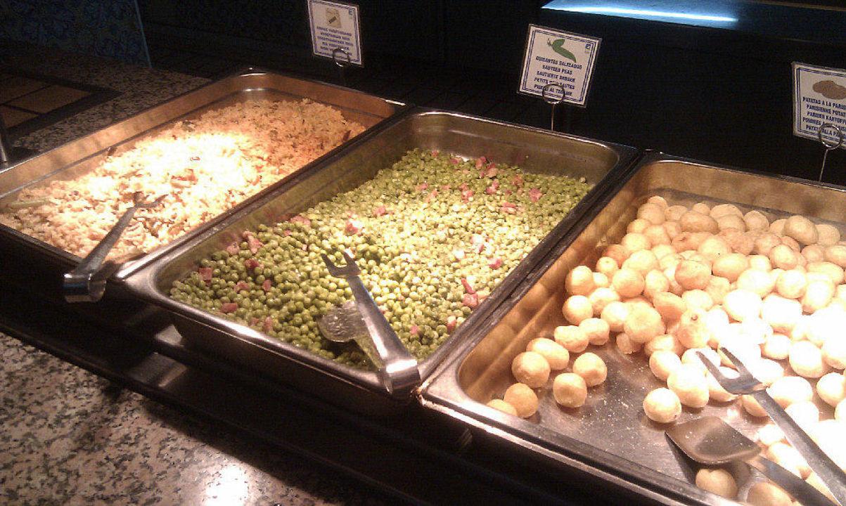 Gemüseabeilagen Playadulce Hotel