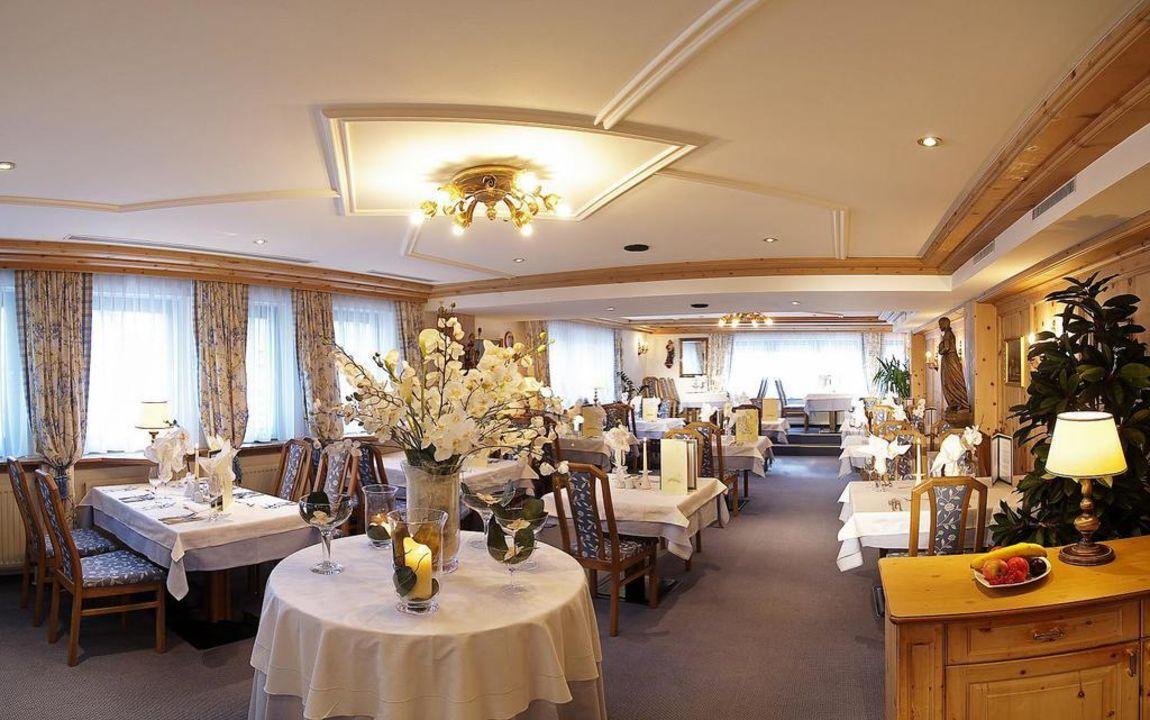 Speisesaal Hotel Jenewein