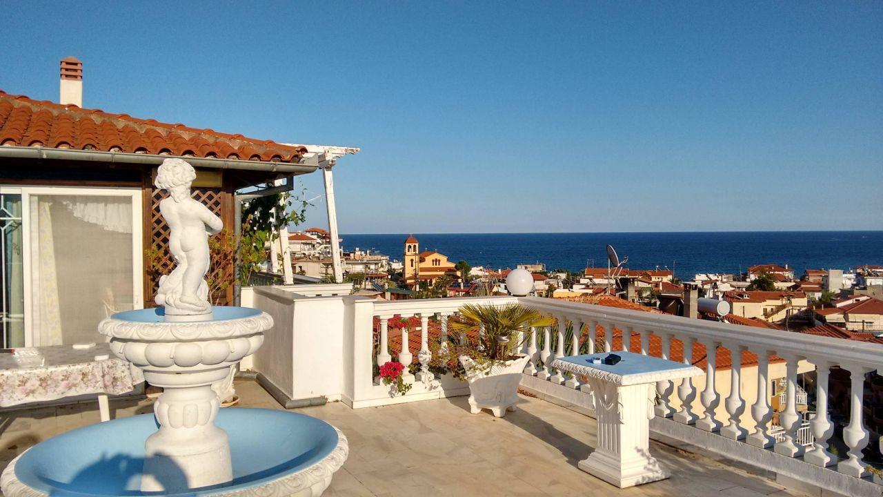 Ausblick über Sarti von der Villa Anesa Villa Anesa