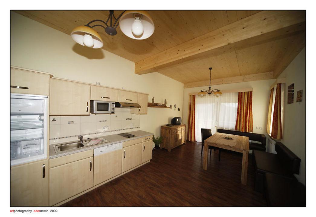 Wohnküche Hotel Garni Zerza