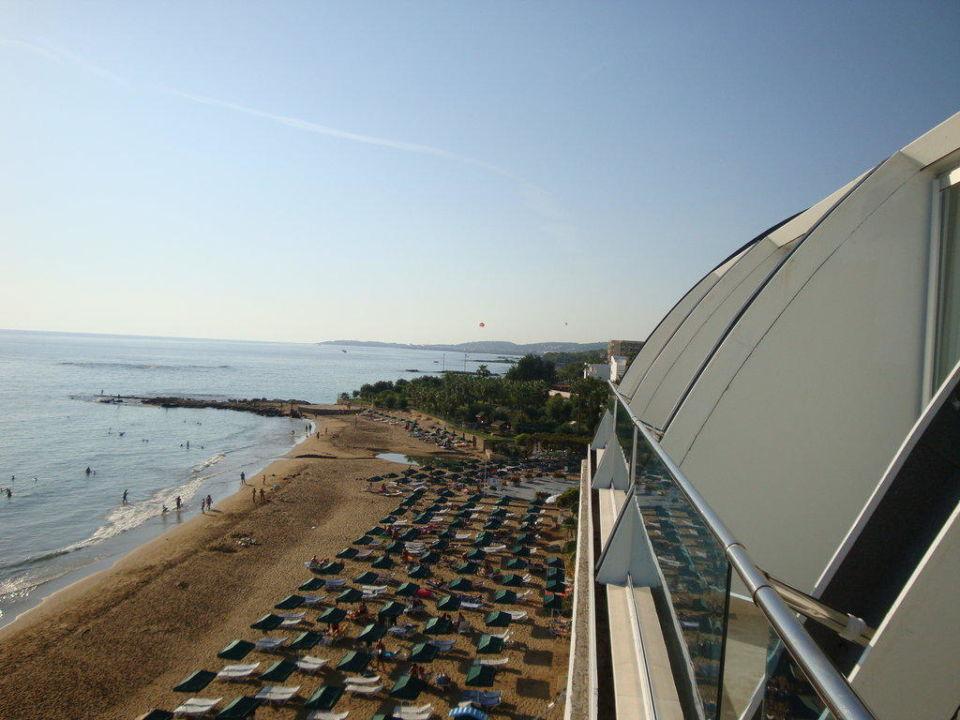 Blick vom Balkon Yalihan Una