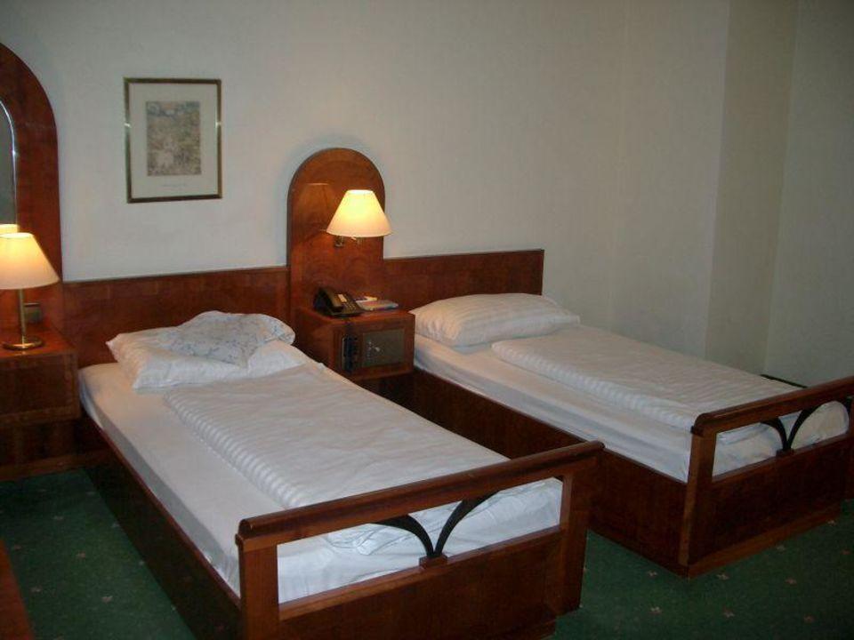 Schlafzimmer Mercure Grand Hotel Biedermeier
