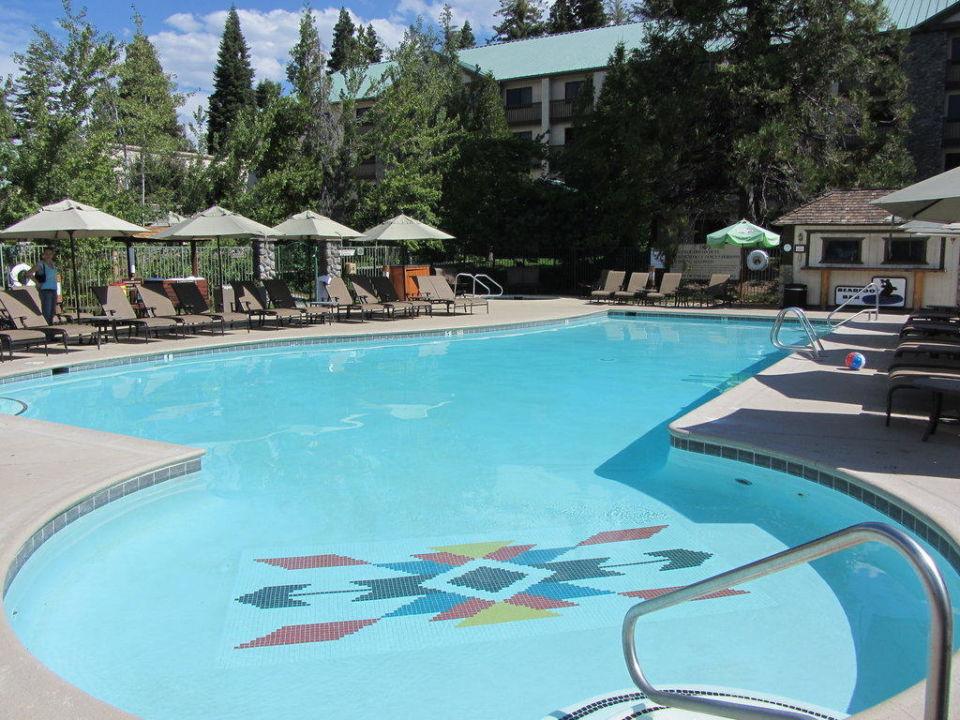 Außenpool der Tanya Lodge Hotel Tenaya Lodge at Yosemite