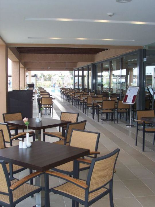 Terrasse Hauptrestaurant SENTIDO Carda Beach Atlantica