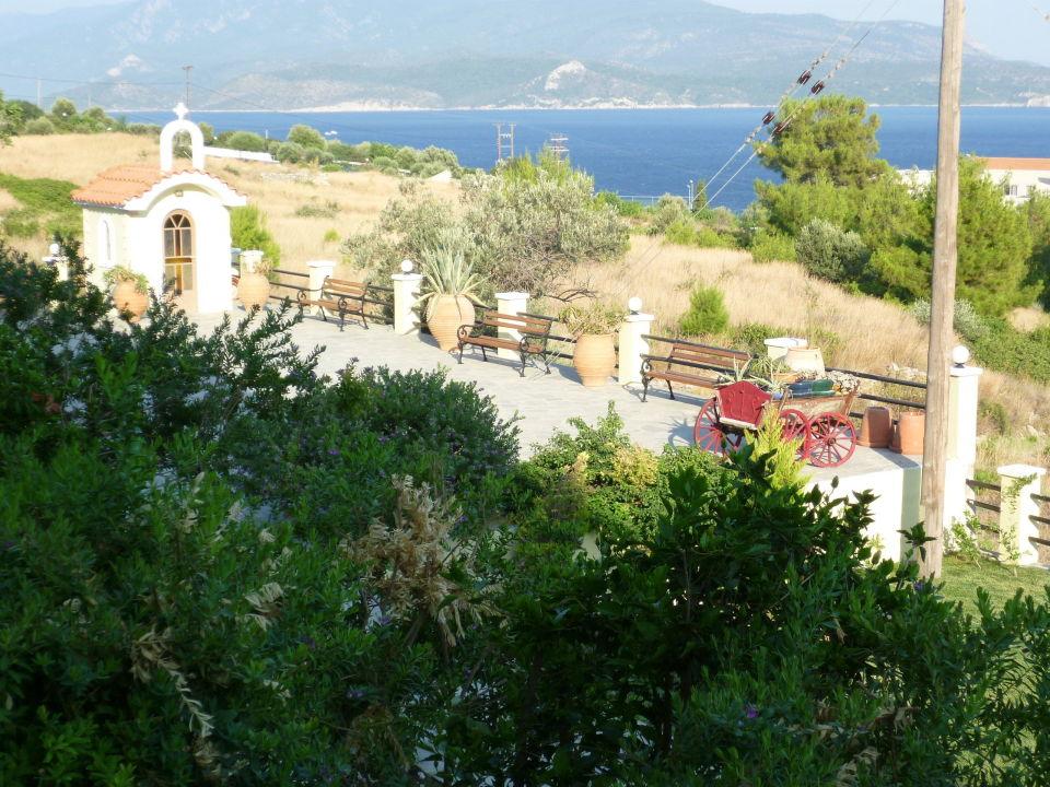 Aussicht aufs Meer und Türkei Naftilos Boutique Hotel
