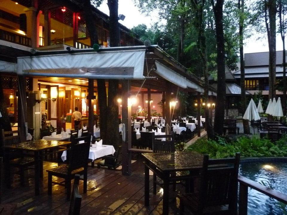 Frühstücks-Terrasse Khao Lak Merlin Resort