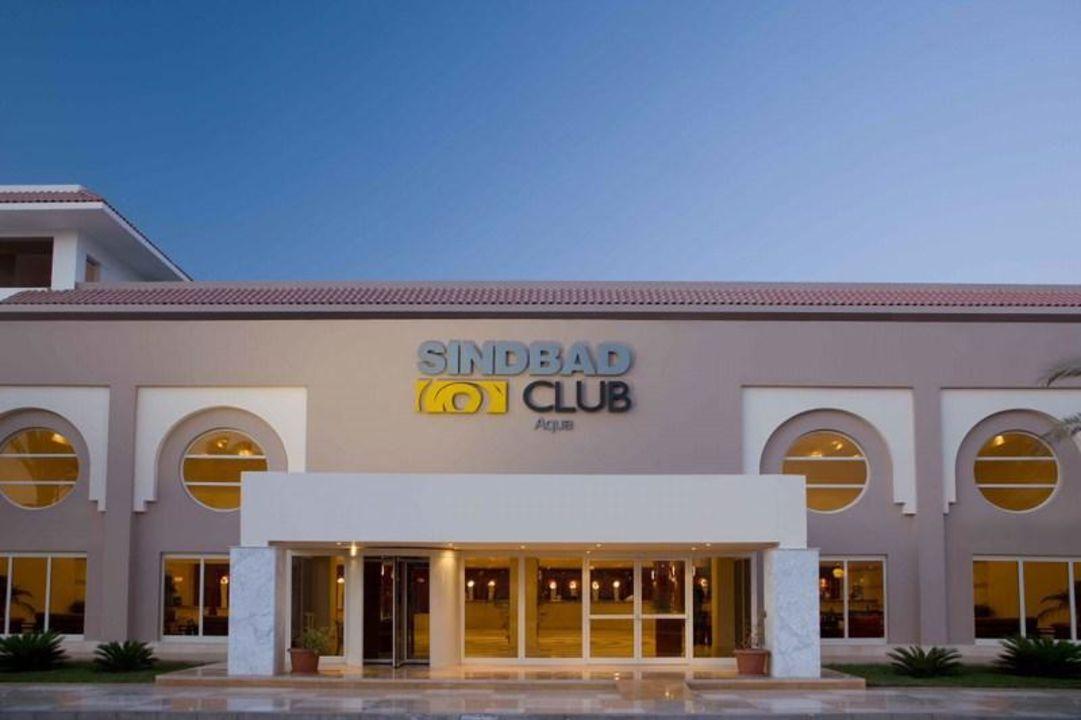 Hoteleingang Sindbad Club Aquapark & Resort (Komplex)