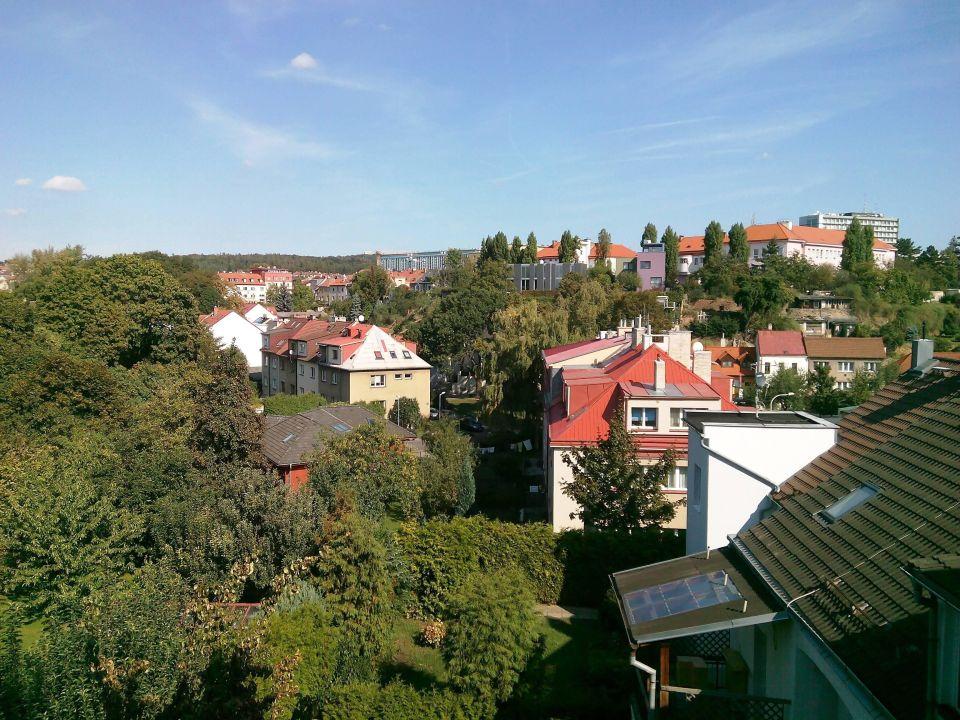 Ausblick mit viel Grün Hotel Henrietta