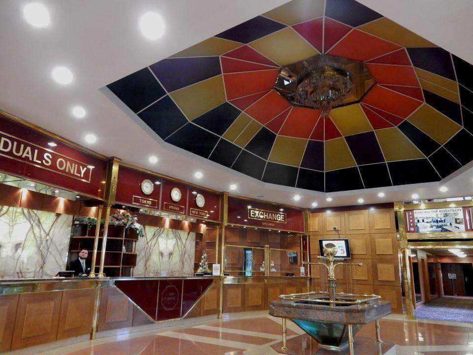 Lobby Top Hotel Praha
