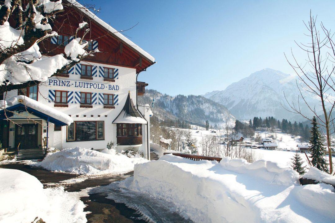 """Hotel im Schnee"" Hotel Prinz Luitpold Bad (Bad Hindelang ..."