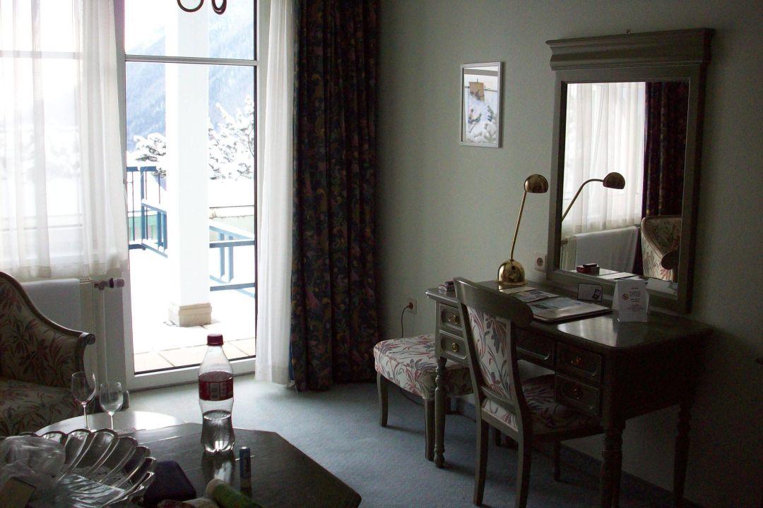 Zimmer mit Terasse Hotel Panhans
