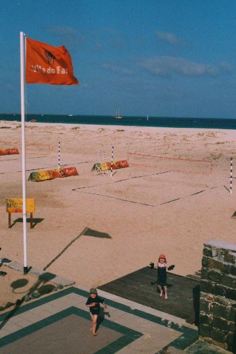 Strand von Santa Maria VOI Vila do Farol resort