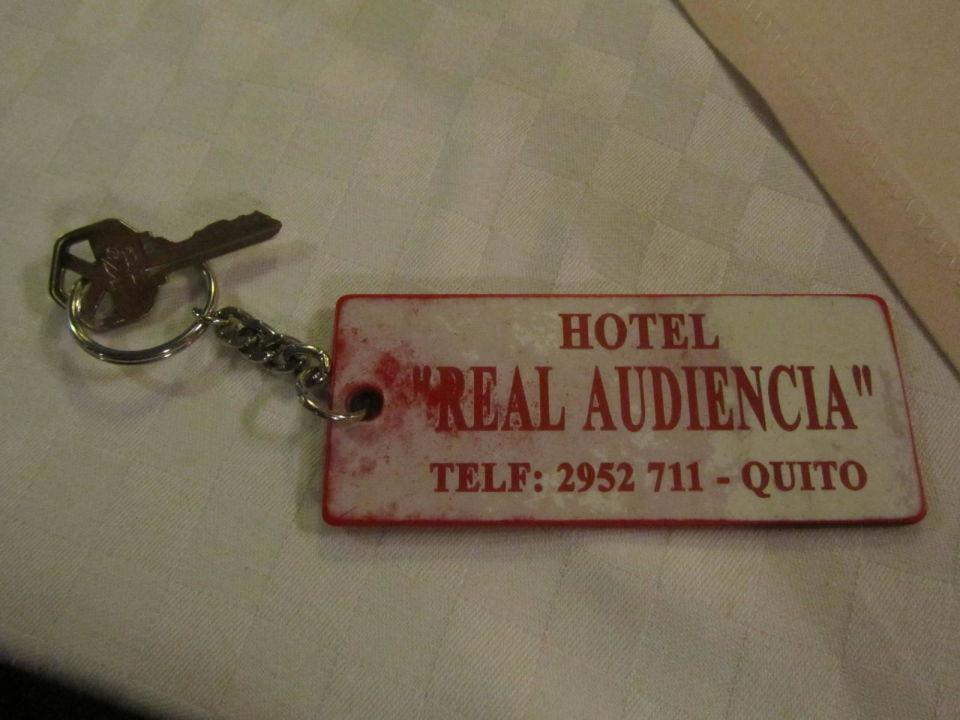 Zimmerschlüssel Hotel Real Audiencia