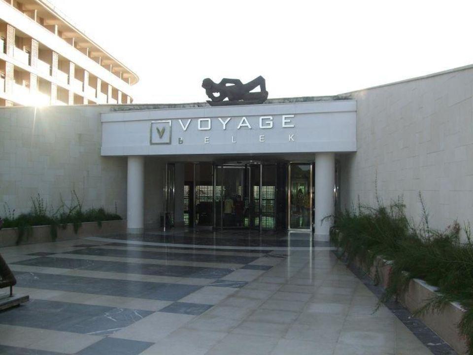 Eingang Haupthaus Voyage Belek Golf & Spa
