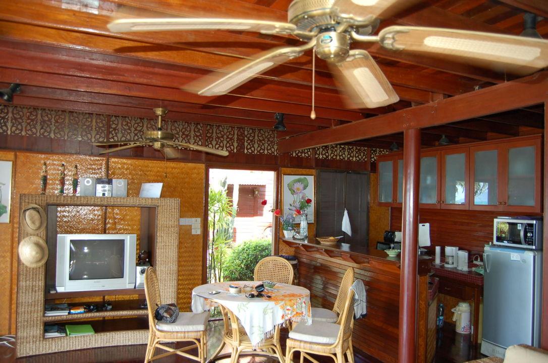 Wohnzimmer Und Amerikanische Kche Coconut Grove Haus D2