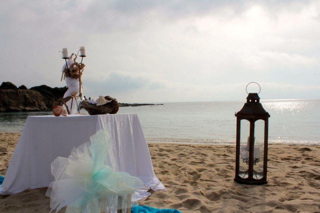 Hochzeitsfeier Am Strand Von Sarti Hotel Apollon Sarti