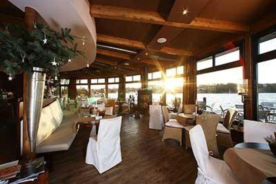 Panaromablick auf den See Hotel Rosendomizil