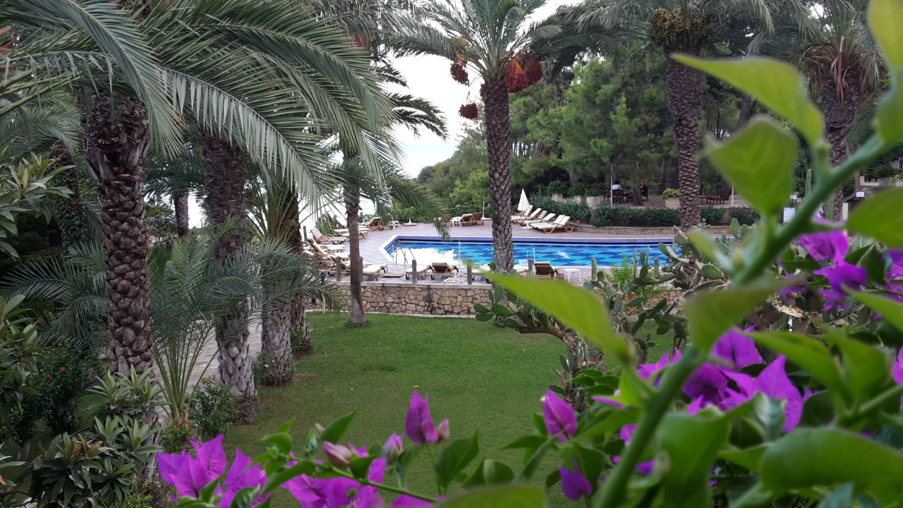 Gartenanlage Alara Hotel