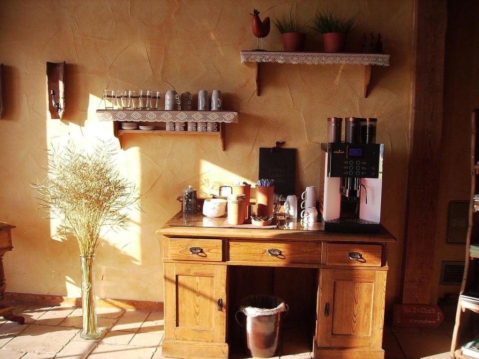 Kaffeebar mit vielen Kaffeesorten im Angebot Apartments Jahreszeitenhof  (geschlossen)