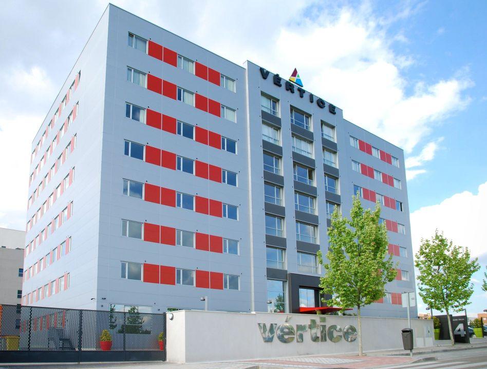 Fachada del hotel Hotel Vértice Rooms