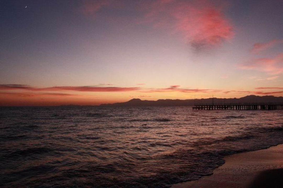 Sonnenuntergang am Strand Ela Quality Resort Belek