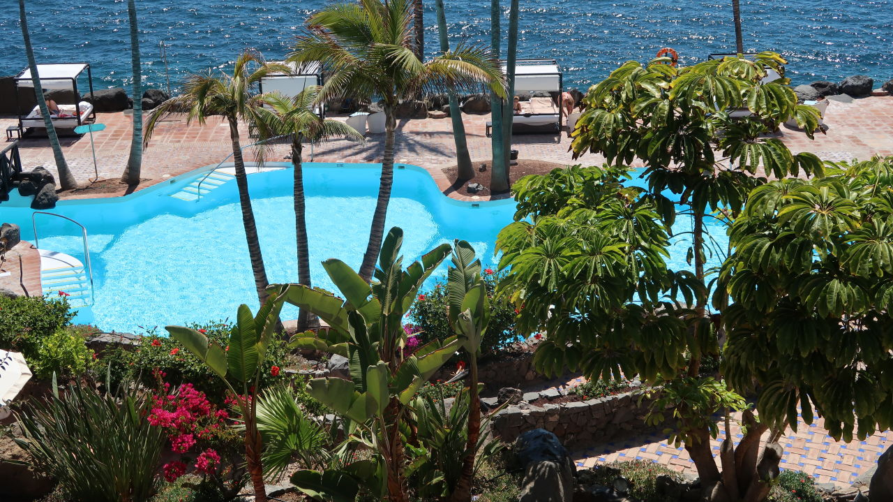 Salzwasser pool hotel jardin tropical costa adeje holidaycheck teneriffa spanien - Pool salzwasser ...
