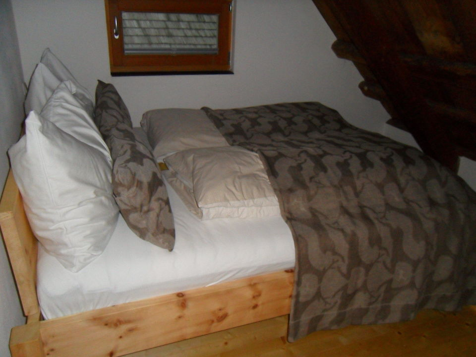 Eins der Schlafzimmer\
