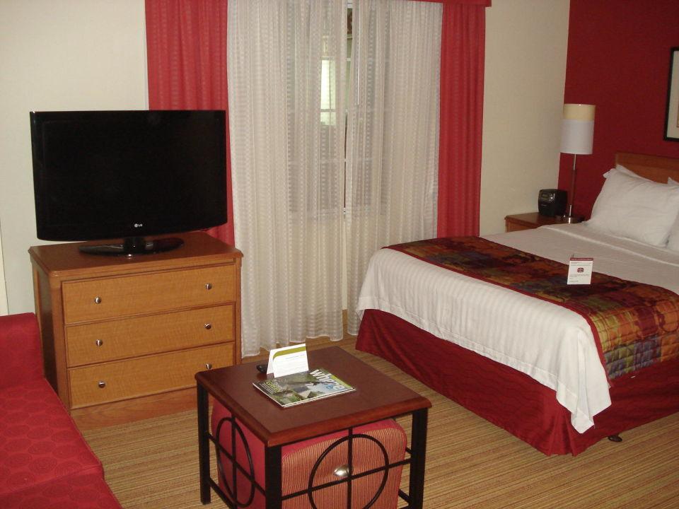 Sitzgelegenheit Mit Tv Und Bett Hotel Residence Inn By Marriott